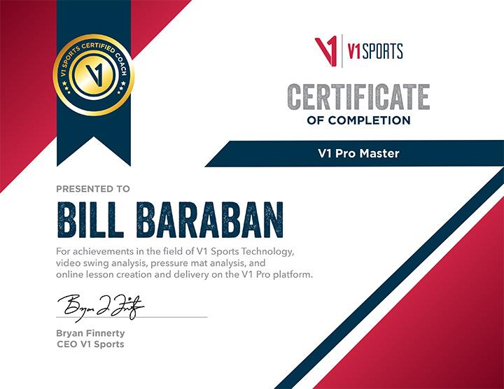 V1 Pro Master Certification